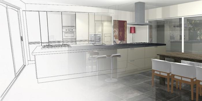 Keuken maken archieven interveld interieur for Keuken in 3d tekenen