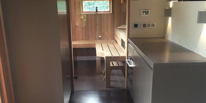 Op maat gemaakte keuken met Corian blad - Interveld Interieur