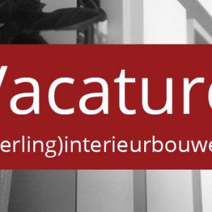 nieuws vacature leerling interieurbouwer