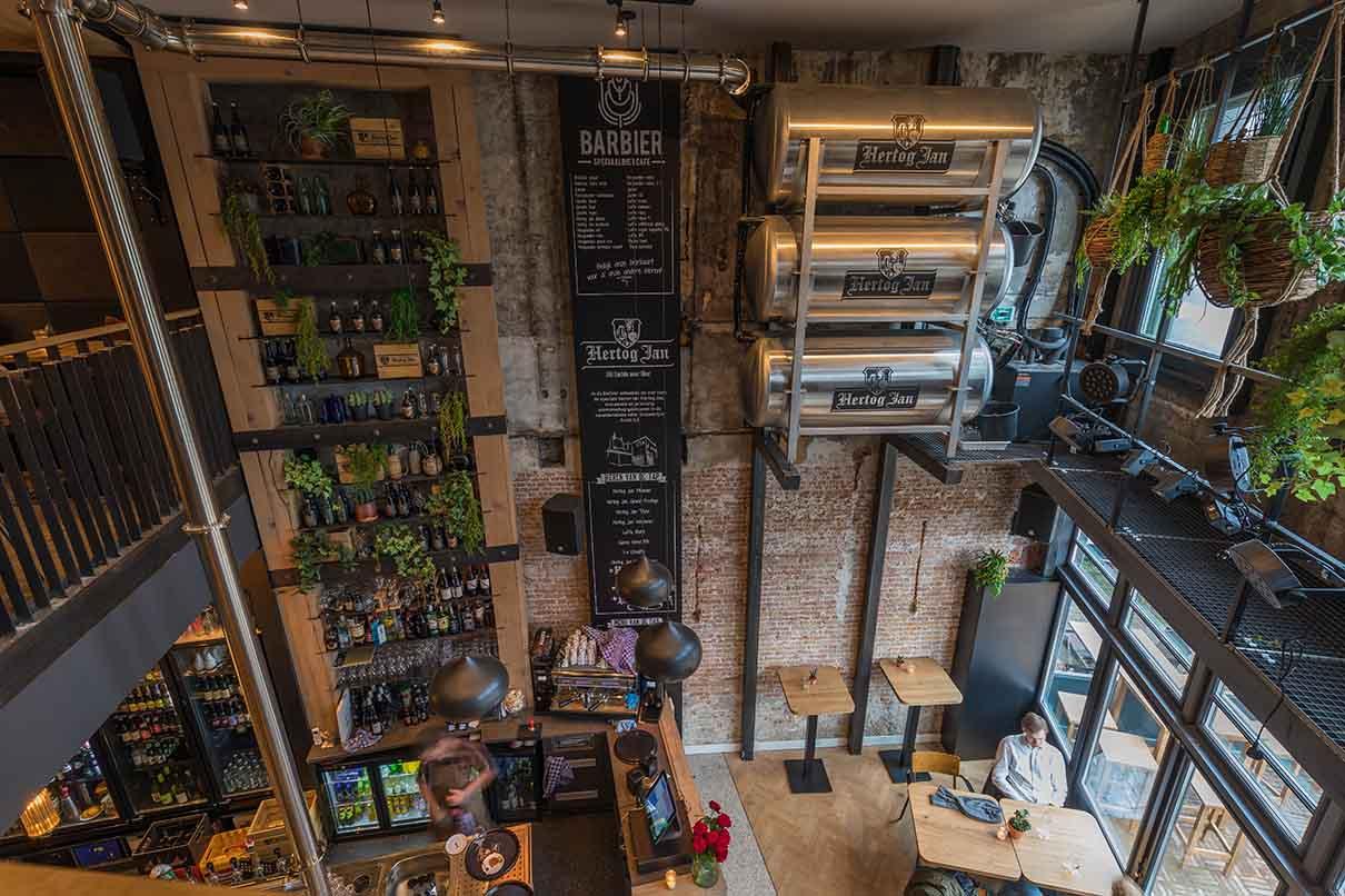 Interieurwerken - speciaalbiercafe